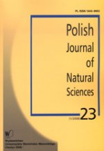 Polish Journal of Natural Sciences