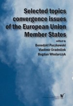 Selected topics convergence issues of the European Union Member States