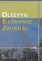 Olsztyn Economic Journal